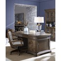 A.R.T. Furniture Inc American Chapter Benchwork Desk Chair with Wood Frame