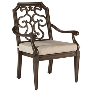 A.R.T. Furniture Inc Arch Salvage Outdoor Gabrielle Dining Chair