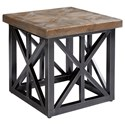 "The Great Outdoors Arch Salvage Outdoor Oliver 22"" End Table - Item Number: 933343-4240"