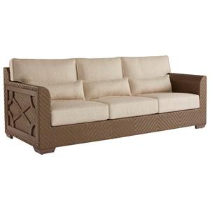 Florence Wicker Sofa
