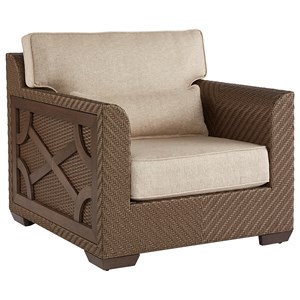Florence Wicker Club Chair