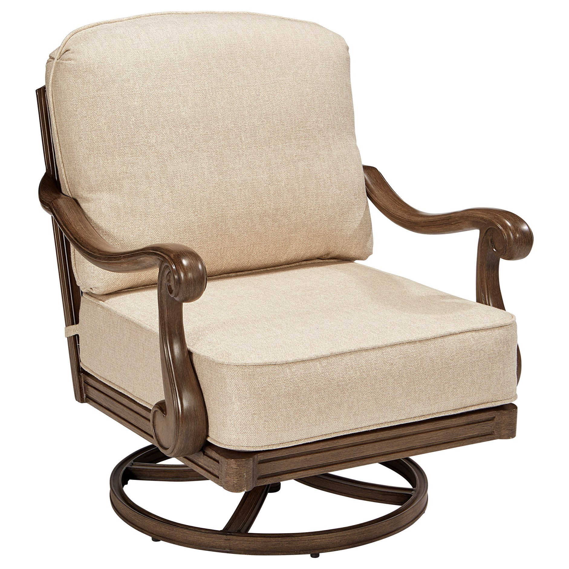 Cannes Swivel Rocking Club Chair