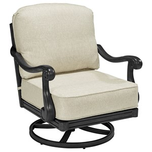 Cannes Swivel Rocking Club Chair