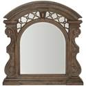 A.R.T. Furniture Inc Vintage Salvage  Bentley Carved Mirror  - Item Number: 231124-2812