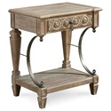 The Great Outdoors Arch Salvage Gabriel Bedside Table - Item Number: 233141-2802