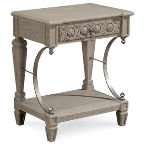 A.R.T. Furniture Inc Arch Salvage Gabriel Bedside Table
