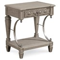 A.R.T. Furniture Inc Arch Salvage Gabriel Bedside Table - Item Number: 233141-2823