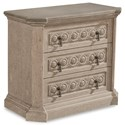 A.R.T. Furniture Inc Arch Salvage Gabriel Bedside Chest - Item Number: 233142-2823