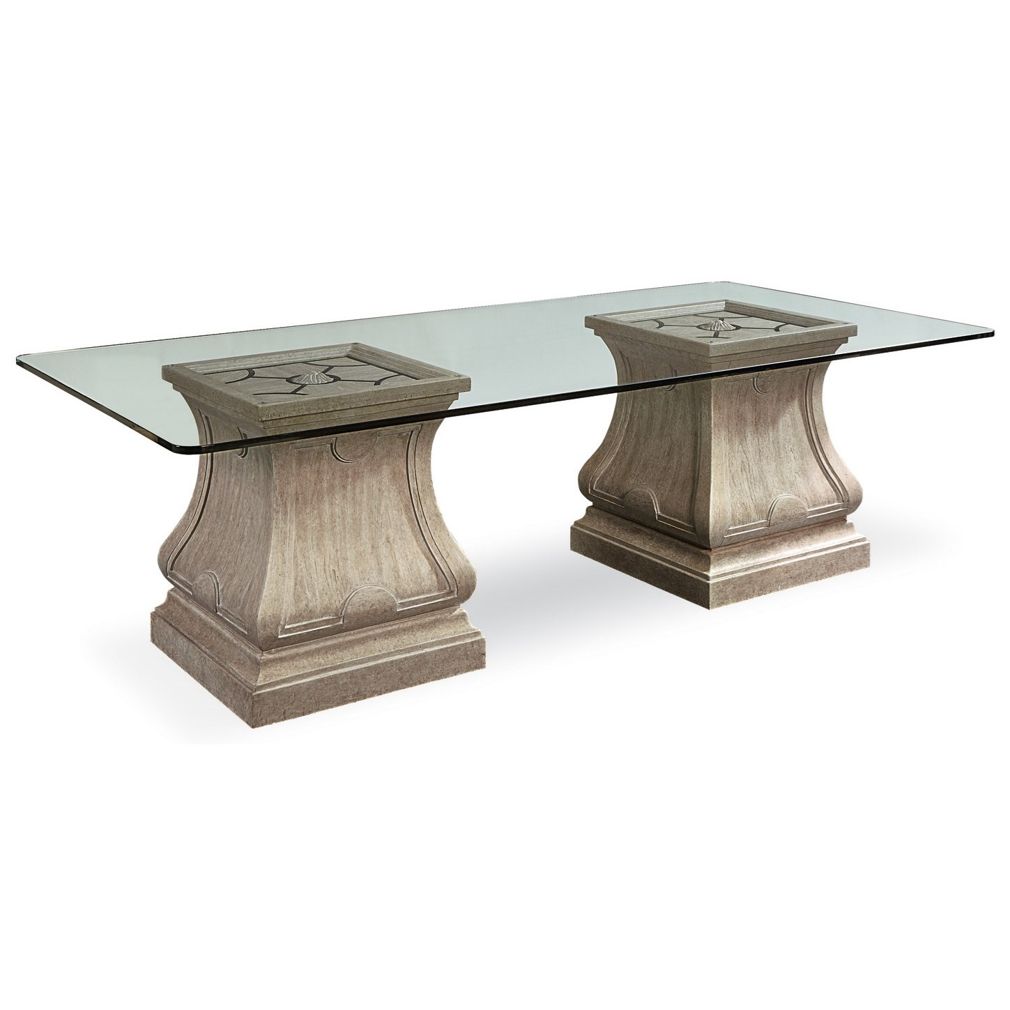 A.R.T. Furniture Inc Arch Salvage Leoni Rectangular Dining Table - Item Number: 233232-2802