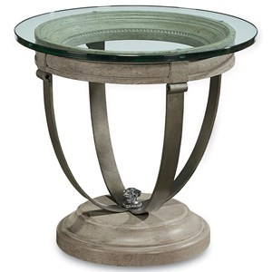 A.R.T. Furniture Inc Arch Salvage Moss Lamp Table