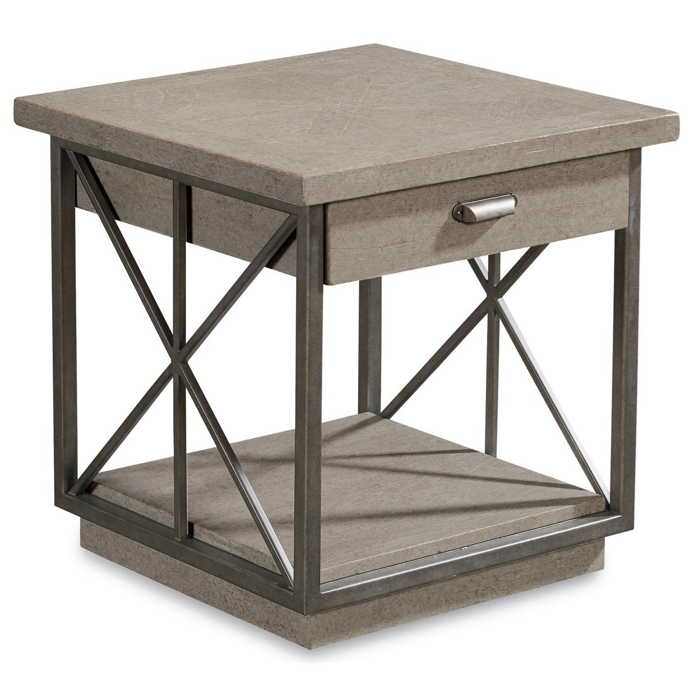 Arch Salvage Burton End Table by A.R.T. Furniture Inc at Story & Lee Furniture