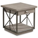 The Great Outdoors Arch Salvage Burton End Table - Item Number: 233364-2823