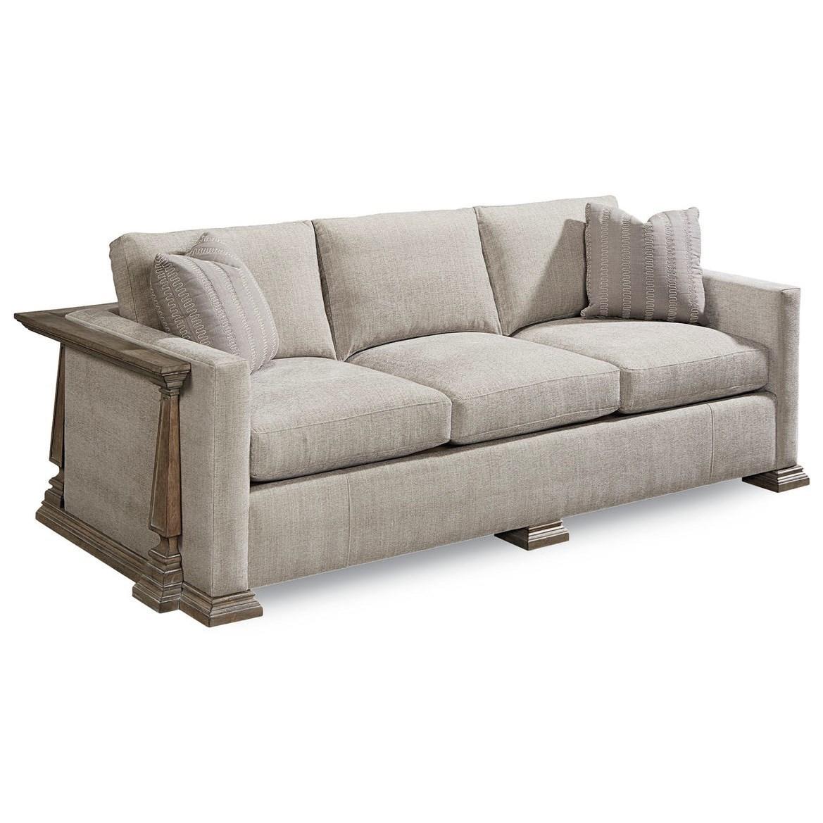 Arch Salvage Harrison Sofa  by Klien Furniture at Sprintz Furniture