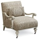 The Great Outdoors Arch Salvage Crane Accent Chair  - Item Number: 533534-5039AA