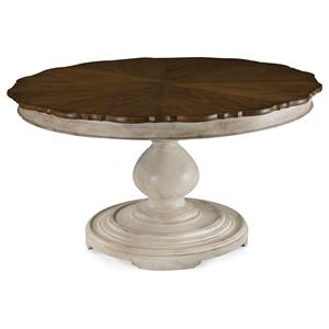 A.R.T. Furniture Inc Belmar II Round Dining Table Top and Base