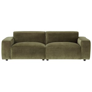 Olafur 2pc Modular Loveseat Sectional
