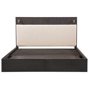 Queen Faber Upholstered Platform Storage Bed