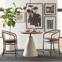 A.R.T. Furniture Inc Bobby Berk Table and Chair Set - Item Number: 239235-2301+2x239208-2302CL