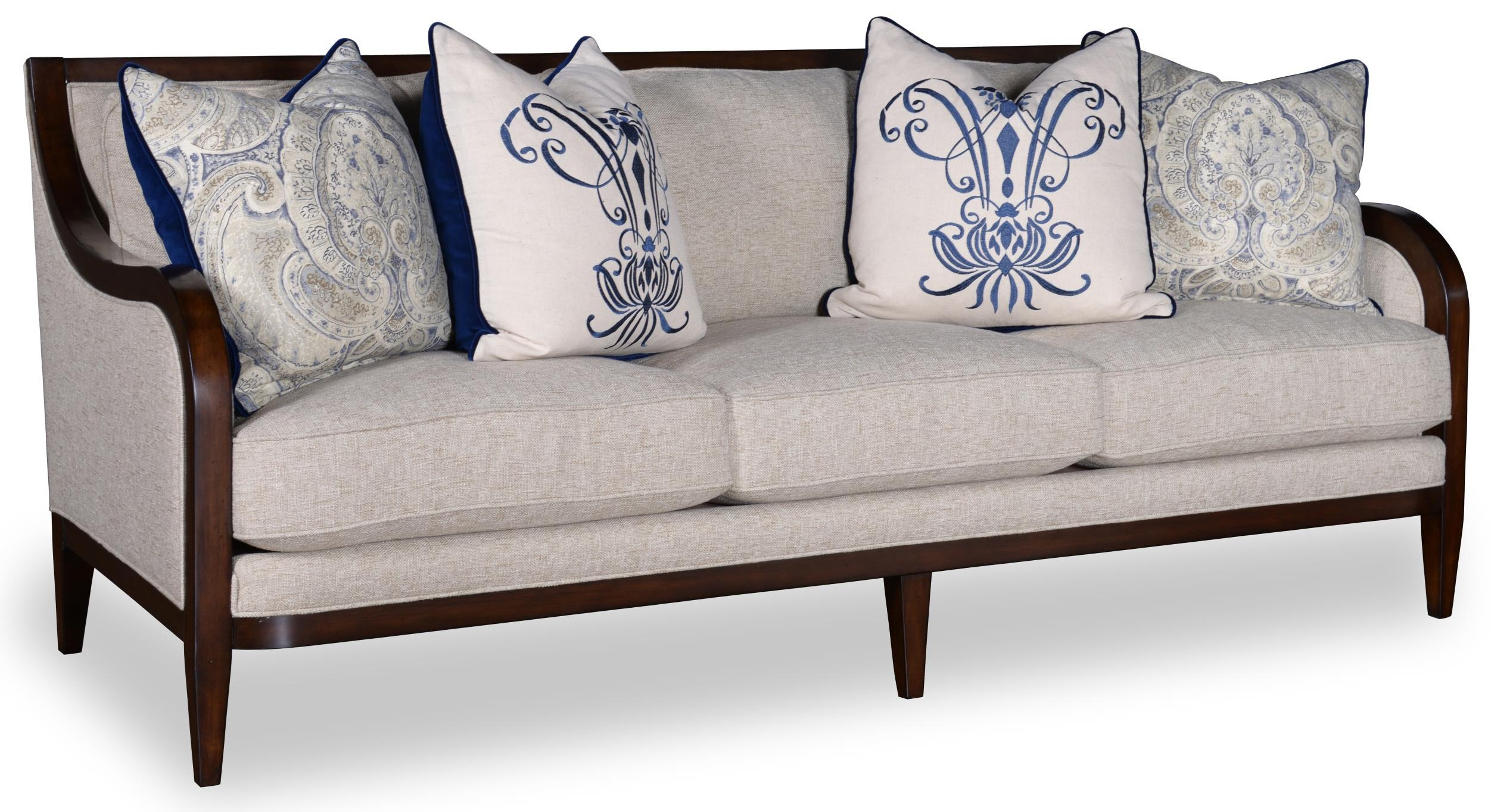 Charmant A.R.T. Furniture Inc Bristol 3 Seat Sofa With Tapered Legs   Item Number:  516521