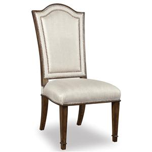 A.R.T. Furniture Inc Chateaux Upholstered Back Side Chair