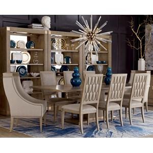 9-Piece Bedford Rectangular Dining Table Set