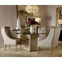 The Great Outdoors Cityscapes 5-Piece Hancock Dining Table Set - Item Number: 232225-232360+4x232200