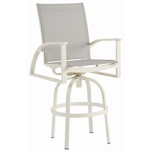A.R.T. Furniture Inc Cityscapes Outdoor Claidon Sling Bar Chair