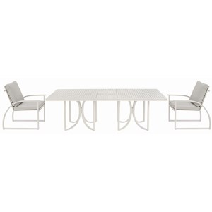 3-Piece Outdoor Dining Set