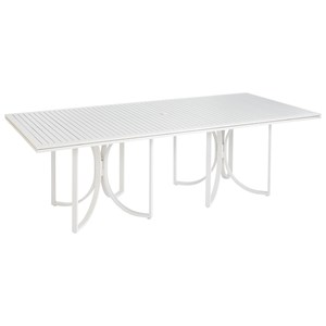Empire Slat Top Rect. Dining Table