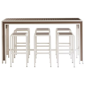 7-Piece Chrysler Bar Set