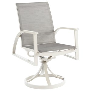 Claidon Swivel Dining Rocker