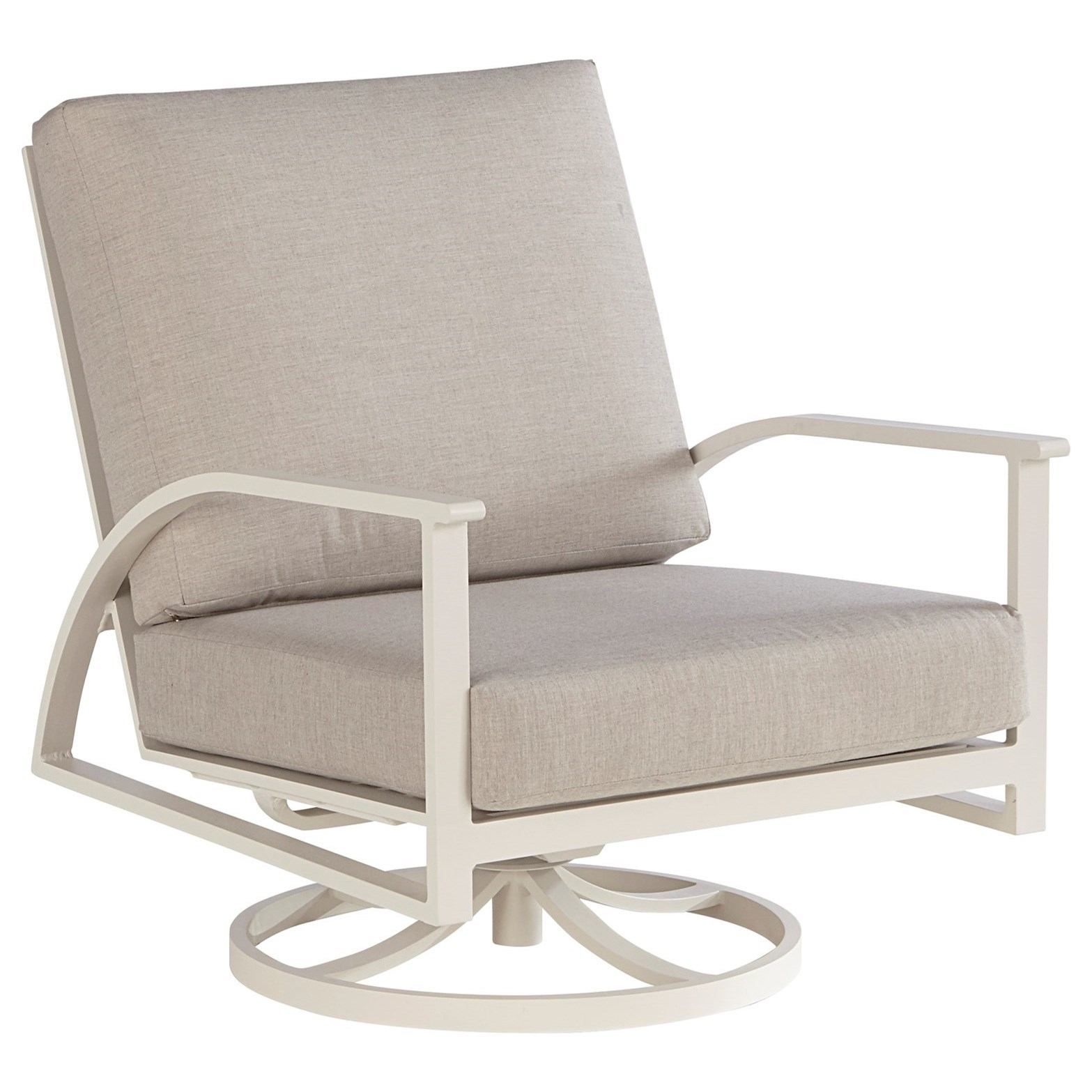 Parker Swivel Rocking Club Chair