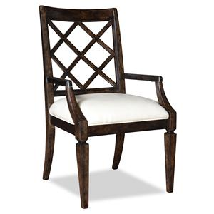 A.R.T. Furniture Inc Classic Lattice-Back Arm Chair