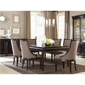 A.R.T. Furniture Inc Classic 7-Piece Leg Dining Table Set