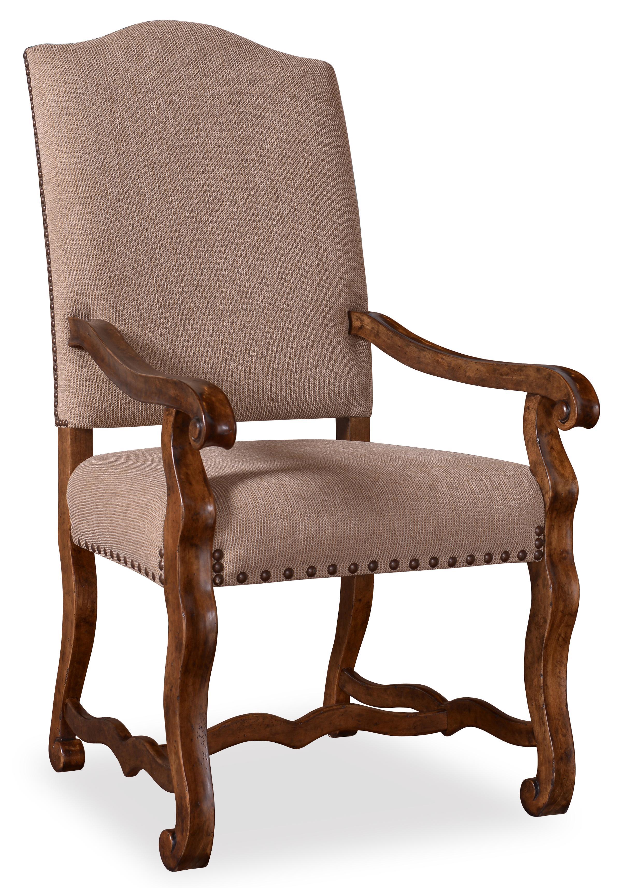Belfort Signature Belle Haven Harvest Upholstered Arm Chair - Item Number: 217207-2610