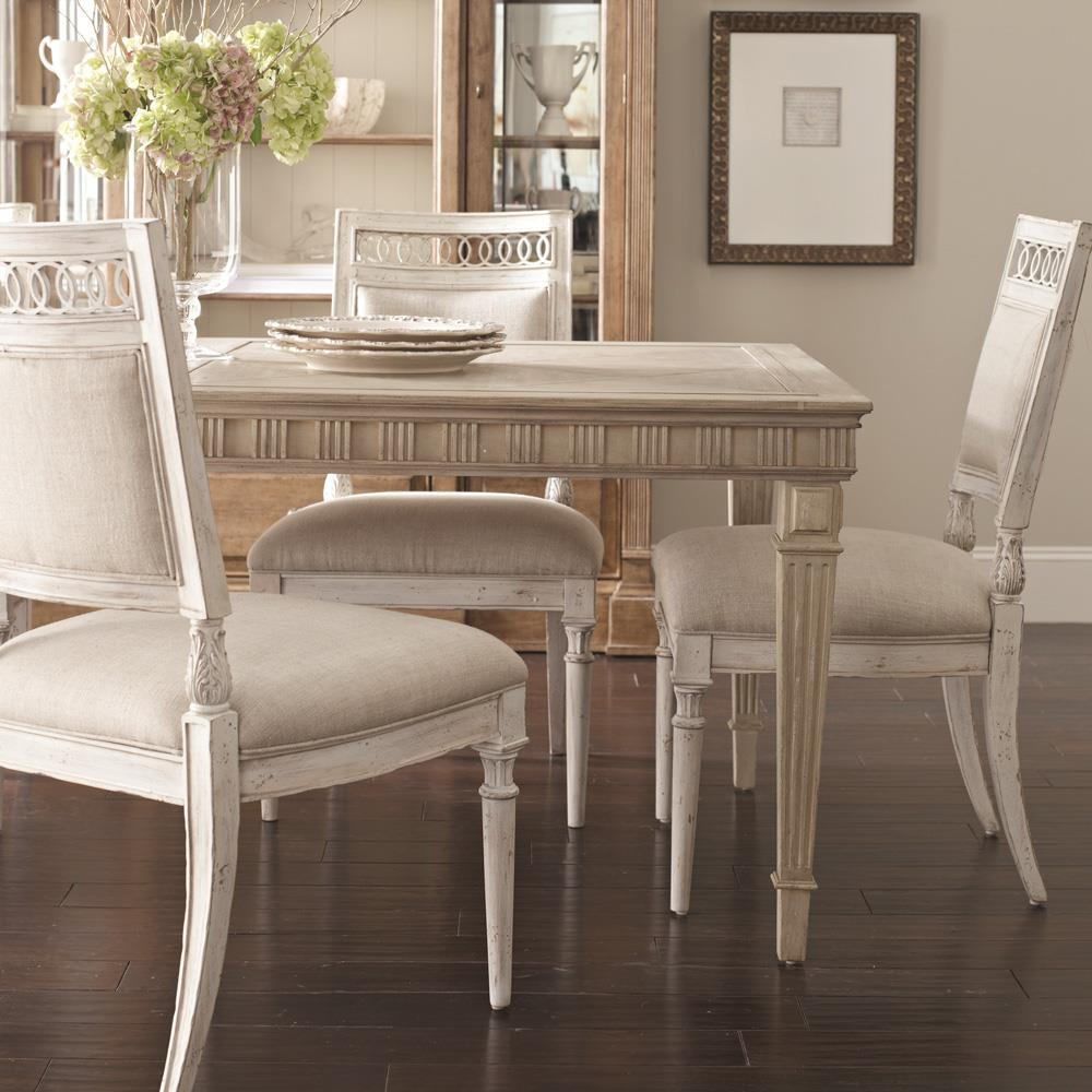 Belfort Signature Belle Haven Jefferson Leg Dining Table - Item Number: 217220-2623