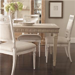 Belfort Signature Belle Haven Jefferson Leg Dining Table