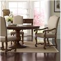 A.R.T. Furniture Inc Collection One 5-Piece Keton Round Dining Table Set - Item Number: 217225-2610+2x217207+2x217206