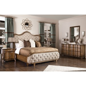 A.R.T. Furniture Inc Continental Queen Bedroom Group