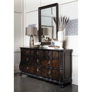 A.R.T. Furniture Inc Continental Dresser & Mirror