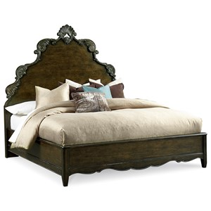 A.R.T. Furniture Inc Continental Cal King Panel Bed