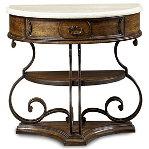 A.R.T. Furniture Inc Continental Demilune Nightstand