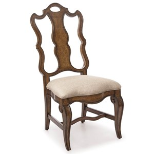 A.R.T. Furniture Inc Continental Splat-Back Side Chair