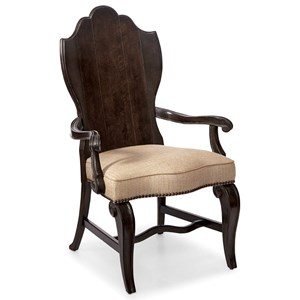 A.R.T. Furniture Inc Continental Wood-Back Arm Chair