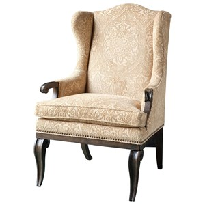 A.R.T. Furniture Inc Continental Wingback Arm Chair