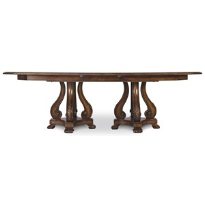 A.R.T. Furniture Inc Continental Double Pedestal Dining Table
