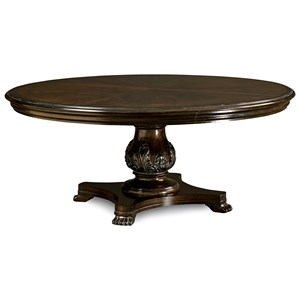 "A.R.T. Furniture Inc Continental 66"" Round Dining Table"