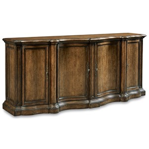 A.R.T. Furniture Inc Continental Shaped Sideboard