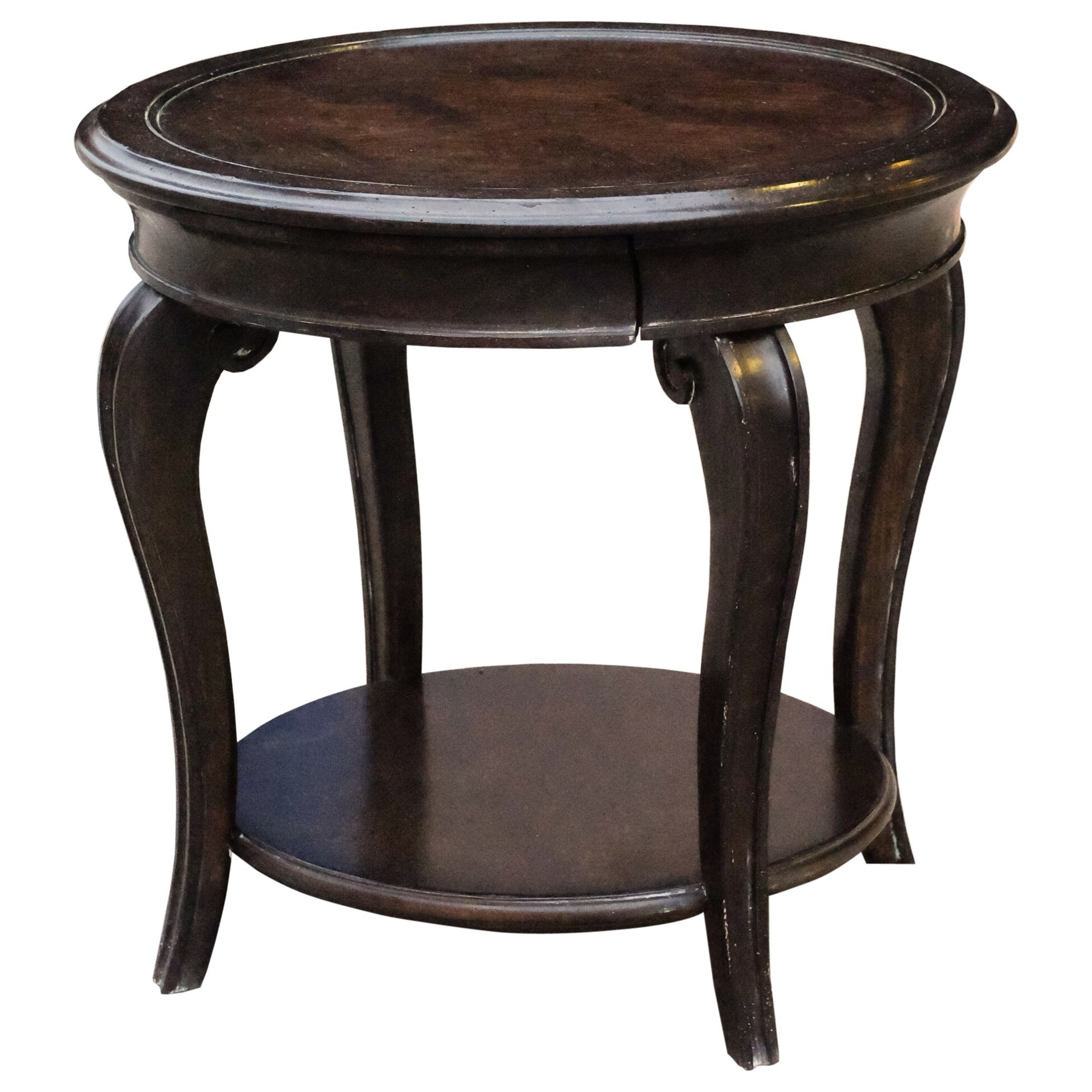 A R T Furniture Inc Continental Round Lamp Table With