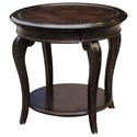 A.R.T. Furniture Inc Continental Round Lamp Table - Item Number: 237303-2615